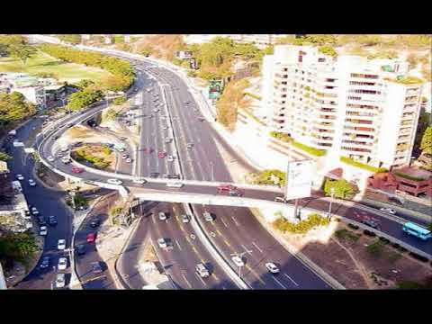 Autopistas de Bogotá y Caracas