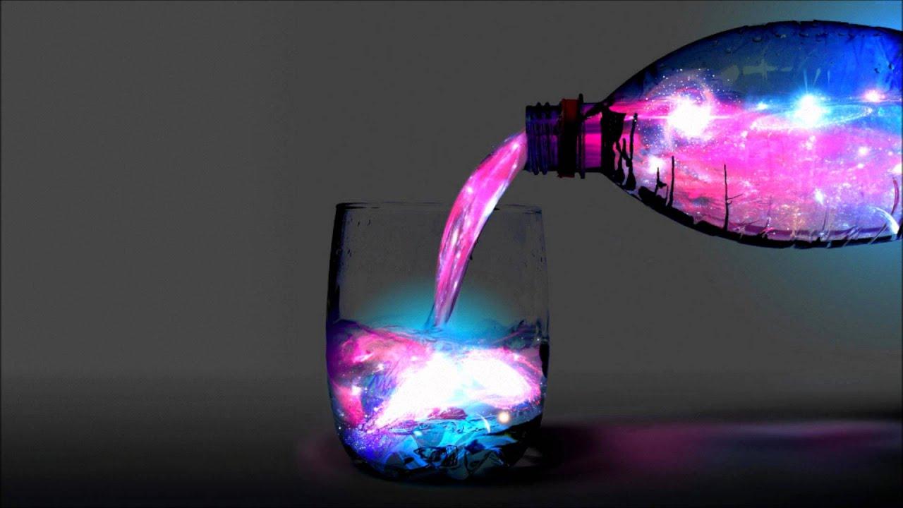 Как сделать светящуюся жидкость уксус