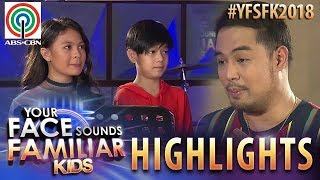 YFSF Kids 2018 Highlights: Marco & Lyca as Tirso Cruz III & Nora Aunor