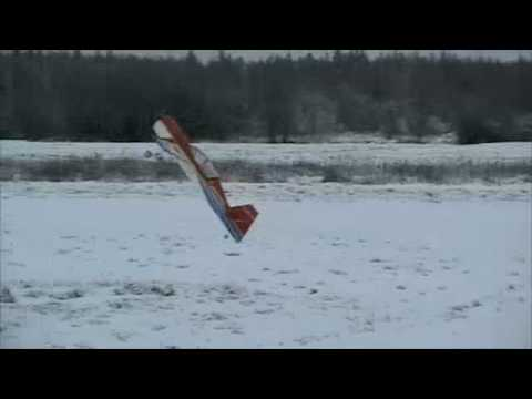 Extreme Flight Yak 54 wintertime flying