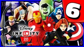 Disney Infinity 2.0 Walkthrough Part 6 (Training Ground) The Avengers Playset