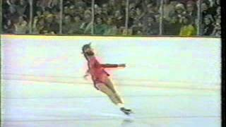 Elena Vodorezova - 1976 Olympics - Short program