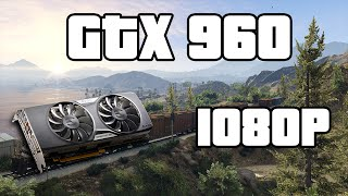 GTA V PC GTX 960 Gameplay 1080P (FPS Count)