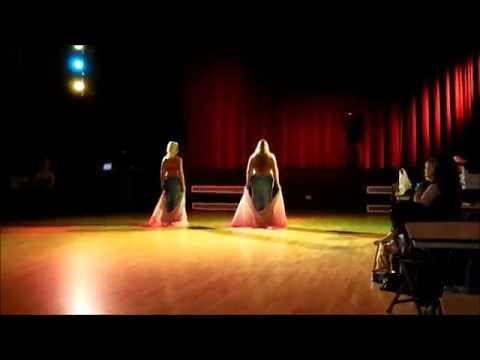 Heneya dancing to 'Raksa' by Amir Sofi at Keighley Show 2014