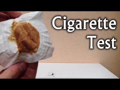 タバコの有害性が目に見えて分かる映像。是非この機会にあなたも禁煙外来へ♪