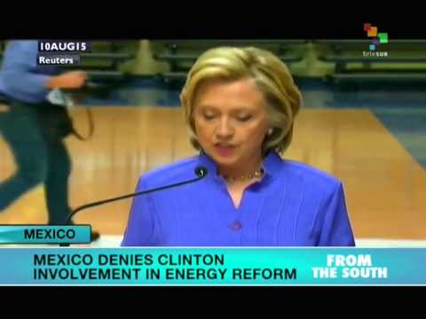 Mexican Government Denies Clinton Involvement in Energy Reform