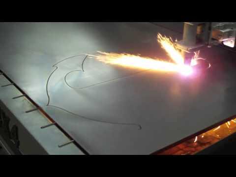 Precision Plasma LLC HD Gantry Cutting 14 ga Steel