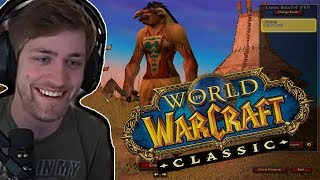 Sodapoppin Plays The WoW Classic Beta!