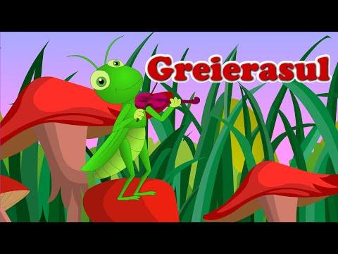 Greierasul   Cantece Copii   Cricket Song In Romanian video