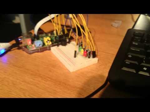Rasp Pi LED Project