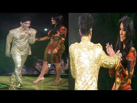 Prince Kicks Kim Kardashian Off The Stage For Refusing To Dance