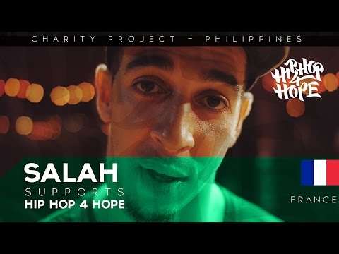 SALAH (France) supports HIP HOP 4 HOPE - charity project in Philippines