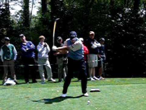 Steve Stricker 09 Masters - in Slo mo Video