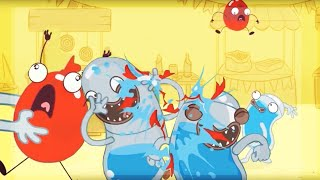 Hydro and Fluid - Water Fight | Cartoons for Children | Kids TV Shows | WildBrain Cartoons