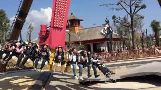 Trò Tê Giác cuồng nộ ở Sunworld Ha Long Park