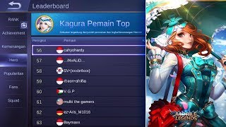 🔴 [LIVE Mobile Legends] - MENUJU TOP NOOB 1 KAGURA! 😝