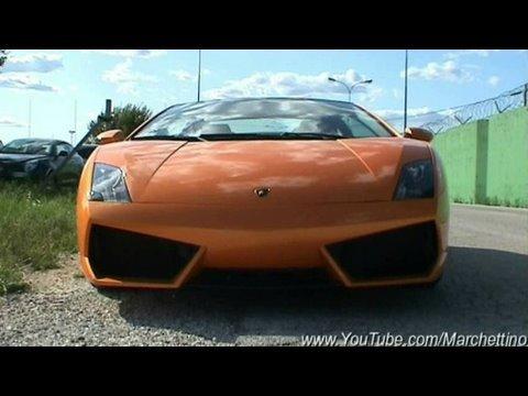 3x Lamborghini LP560-4, LP560-4 Spyder, 430 Scuderia, F430, 360 Modena