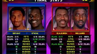 NBA Showtime NBA On NBC Gold Edition - ARCADE - L.A. Lakers - Bryant & O'Neal - MAME