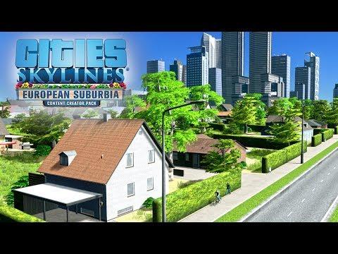 Что не так с DLC European Suburbia - Cities: Skylines?