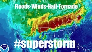 Huge Superstorm Forms Over US. Geoengineering?