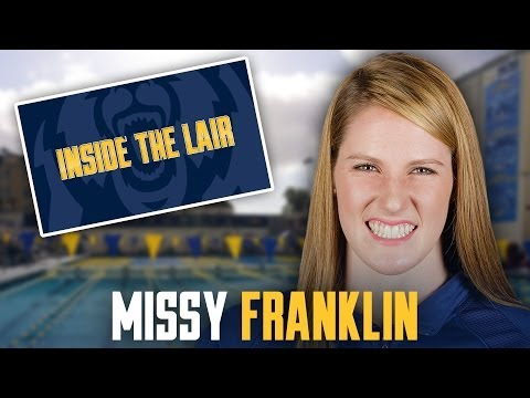 Cal Women's Swimming: Missy Franklin (Inside the Lair)