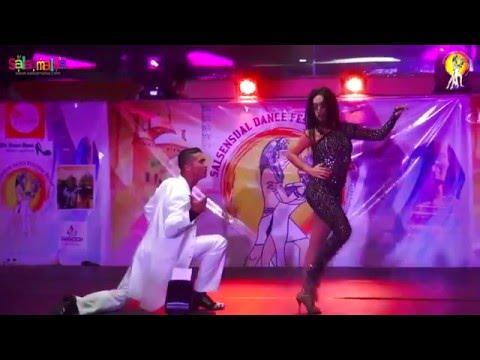 Maria Lizeth & Wilmar Gomez Show Dance Performance | 1.EIDC