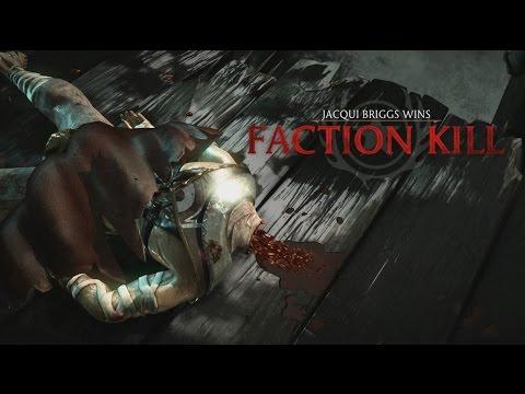 Mortal Kombat X - Special Forces Faction Kill: Center Mass