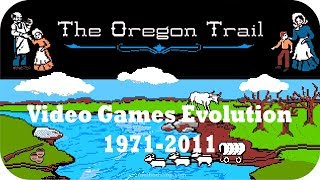 The Oregon Trail Video Games Evolution 1971- 2011 [Longest-running video games franchise]