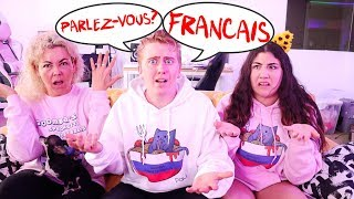 SPEAKING ONLY FRENCH TO EVERYONE FOR 24 HOURS CHALLENGE!