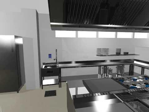 Equipos para cocinas industriales