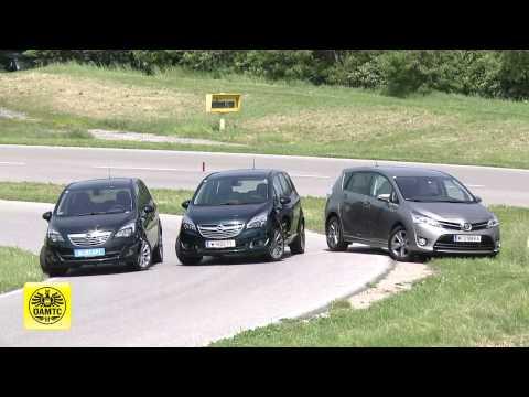 Opel Meriva, Toyota Verso