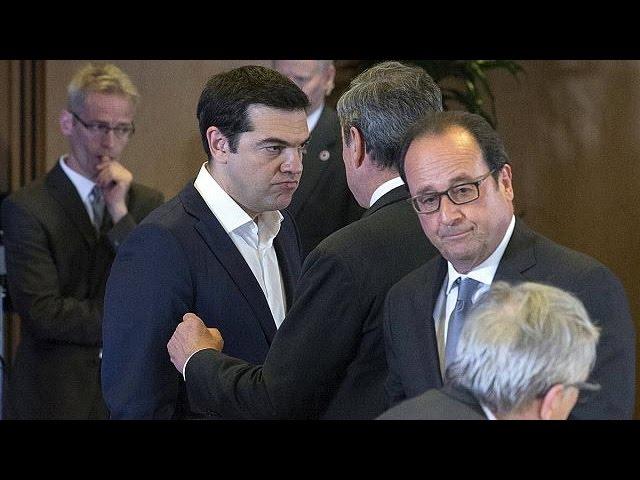 آخرین تلاشها برای نجات یونان