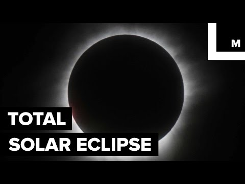 Mesmerizing Footage Shows the Total Solar Eclipse Traveling Over Southeast Asia