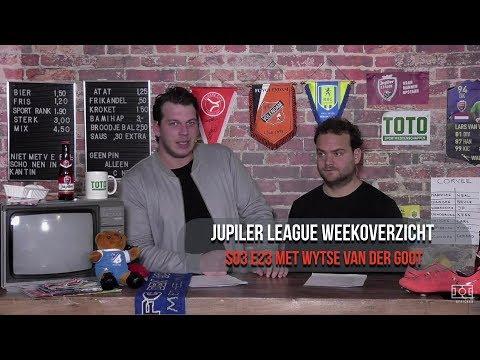 Jupiler League weekoverzicht met Lars van Velsum S03E23 | Met Wytse van der Goot!