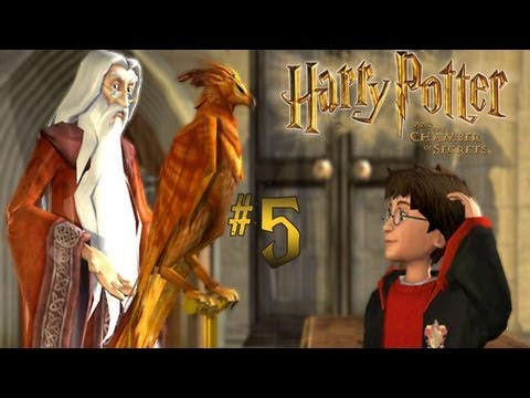 Harry Potter and the Chamber of Secrets - Walkthrough - Part 5 (PC) [HD]