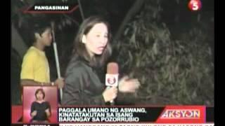 paggala umano ng aswang, kinakatakutan sa isang barangay sa pozorrubio