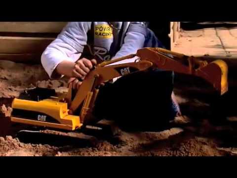 MOMAMINI BRUDER Excavadora CAT