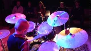 "Drummer Daniel Varfolomyeev 9 years  program ""People"" - 34 TV channel"