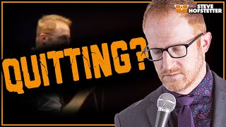 Comedian gets told to quit his dayjob - Steve Hofstetter