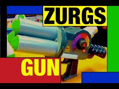 Toy Story ZURG'S BLASTER Real TOY! Rare toy review with