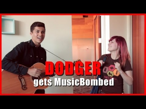 Dodger gets MUSIC BOMBED