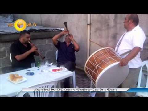 Alaçam Şenol Bedir Düğününden ve Mübadillerden Davul Zurna Gösterisi