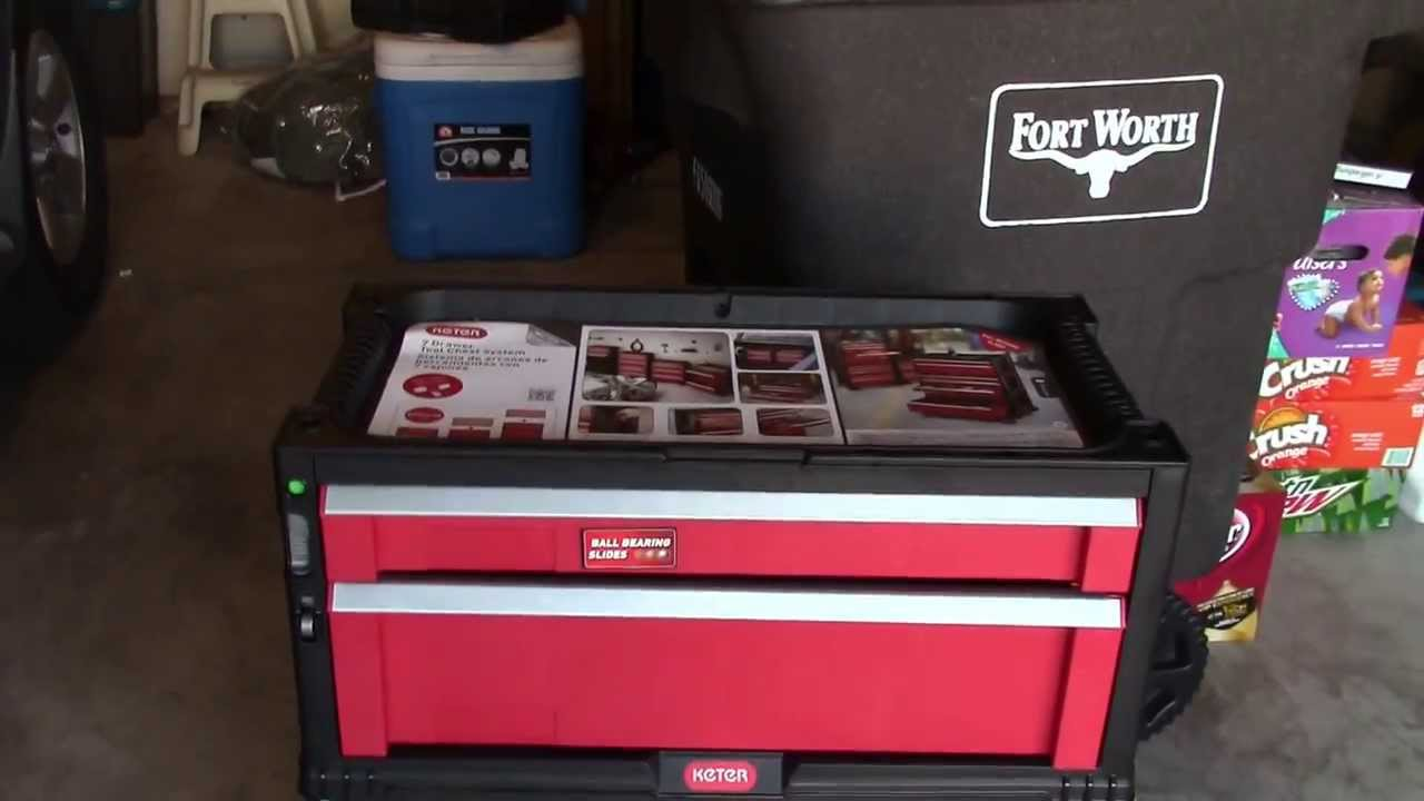 Keter 7 Drawer Tool Chest System Youtube
