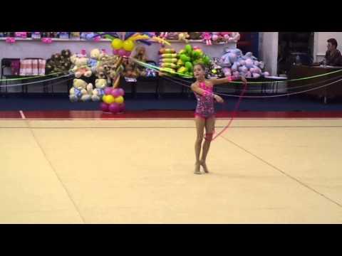 Художественная гимнастика показательное выступление в рамках - 22-05-2015.