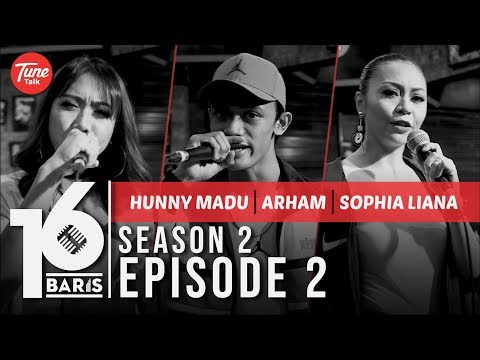 Download 16 BARIS | Season 2 | EP02 | Hunny Madu, Arham & Sophia Liana Mp4 baru