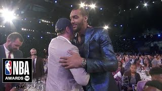 Rudy Gobert Wins Defensive Player of the Year | 2019 NBA Awards