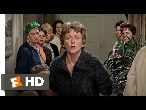 The Birds (9/11) Movie CLIP - I Think You're Evil! (1963) HD