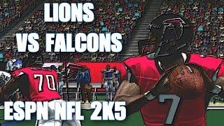 ESPN NFL 2K5 FRANCHISE MODE - LIONS VS FALCONS WEEK 5