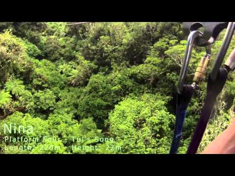 Rotorua Canopy Tours - Ruth Doug Nina Caroline - December 28, 2013