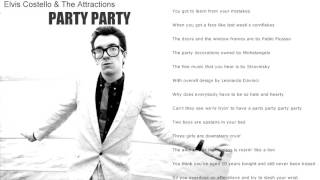 Watch Elvis Costello Party Party video
